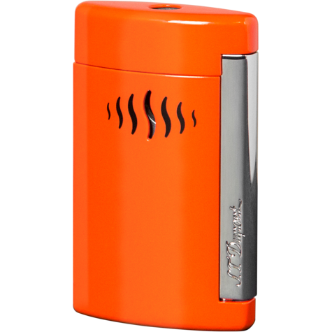S.T. Dupont MiniJet Lighter Coral Orange