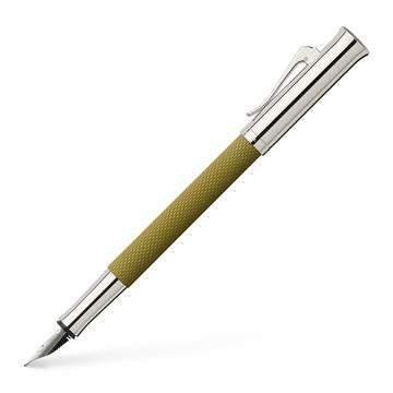 Graf von Faber-Castell Guilloche Fountain Pen Olive Green