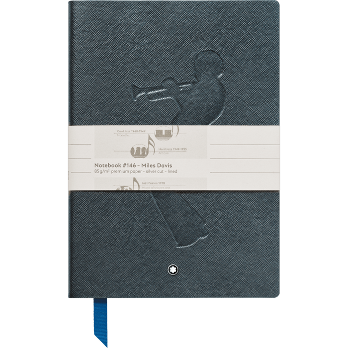 Montblanc Fine Stationery Lined Notebook #146 Miles Davis