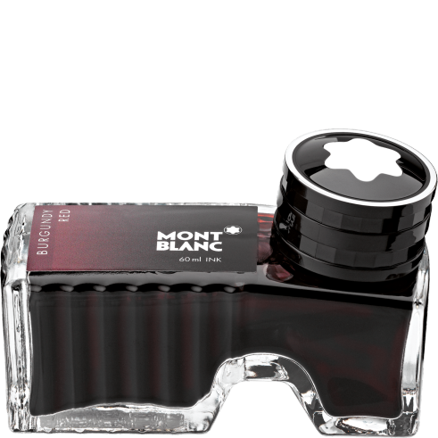 Burgundy Red Ink Bottle