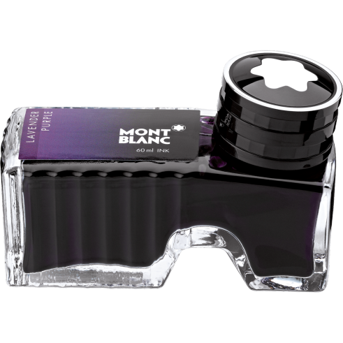 Lavender Purple Ink Bottle