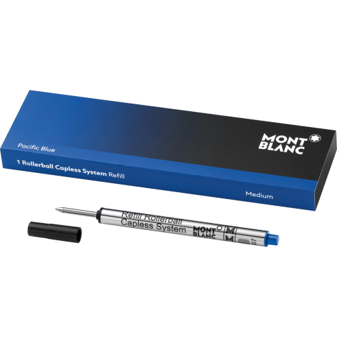Pacific Blue Rollerball Capless System Refill