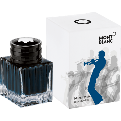 Miles Davis Jazz Blue Ink Bottle