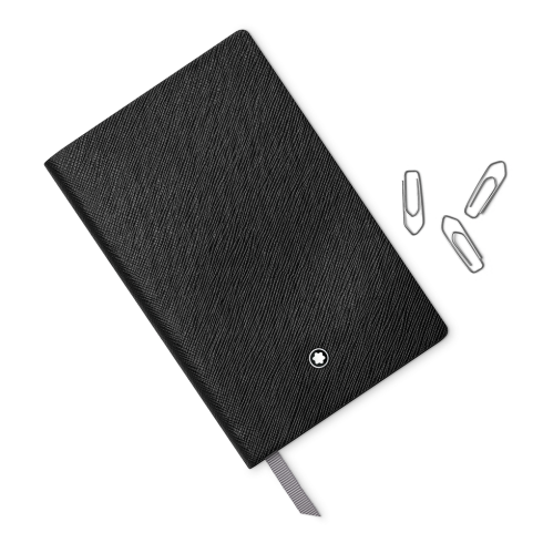 Montblanc Fine Stationery Lined Open Diary Notebook #147 Black