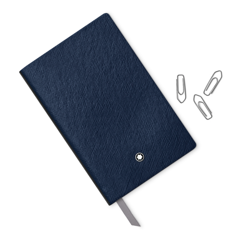Montblanc Fine Stationery Lined Open Diary Notebook #147 Indigo