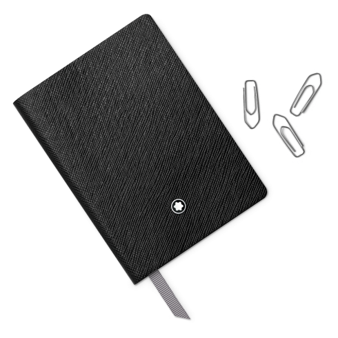 Montblanc Fine Stationery Lined Notebook #145 Black