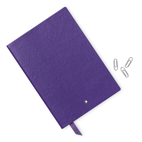 Montblanc Fine Stationery Lined Notebook #146 Purple