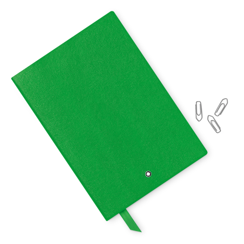 Montblanc Fine Stationery Lined Notebook #146 Green