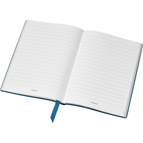 Montblanc Fine Stationery Lined Notebook #146 Turquoise