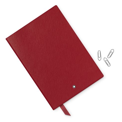 Montblanc Fine Stationery Lined Notebook #146 Red