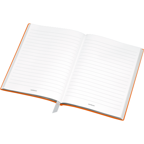 Montblanc Fine Stationery Lined Notebook #146 Lucky Orange