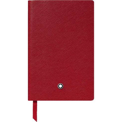 Montblanc Fine Stationery Lined Notebook #148 Red