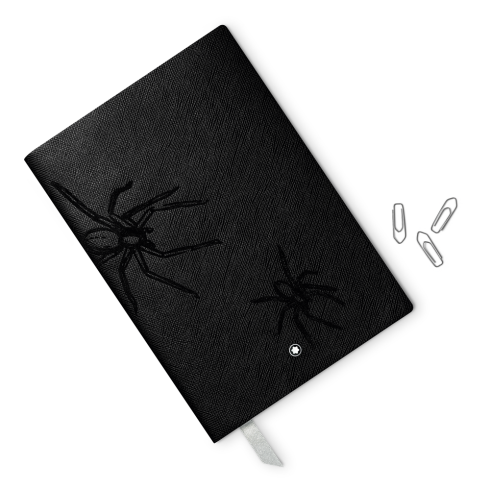 Montblanc Fine Stationery Line Notebook #146 Heritage Rouge & Noir Spider
