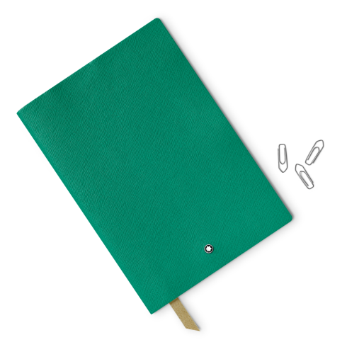 Montblanc Fine Stationery Lined Notebook #146 Emerald Green