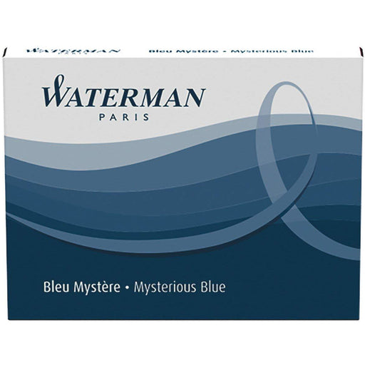Waterman Long Ink Cartridge Mystery Blue