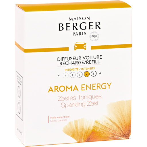 Aroma Energy - Car Diffuser Refill - Pack of 2