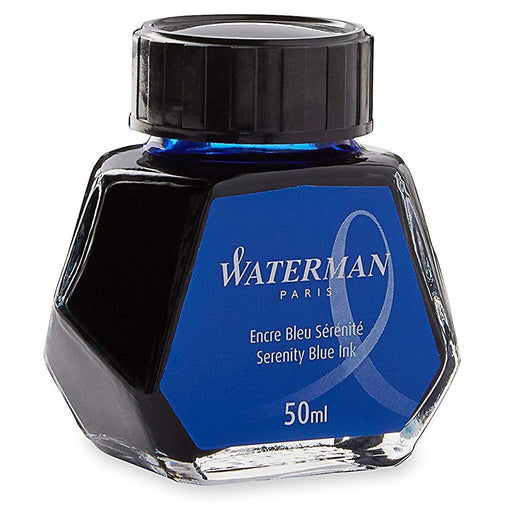 Waterman Ink Bottle Serenity Blue