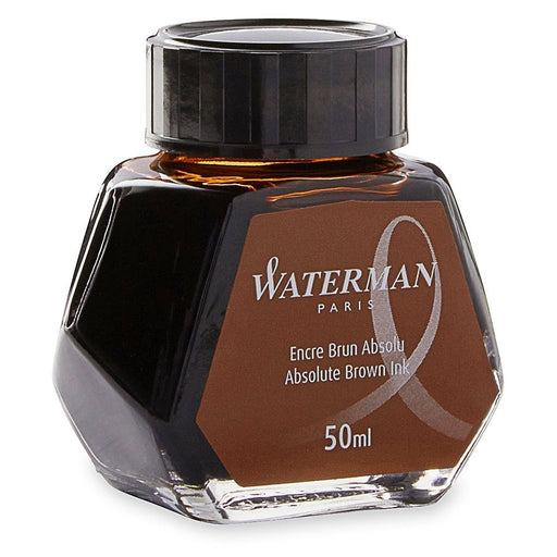 Waterman Ink Bottle Absolute Brown