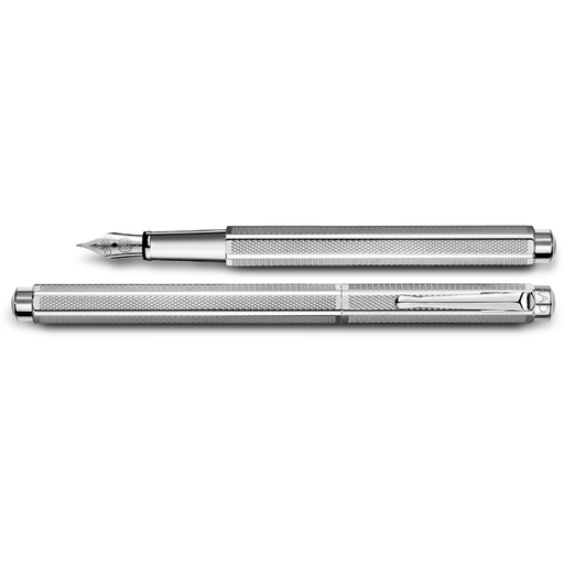 Caran d'Ache Ecridor Retro Fountain Pen Palladium Coated