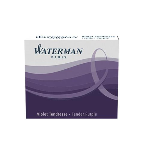 Waterman Short Ink Cartridge Tender Purple