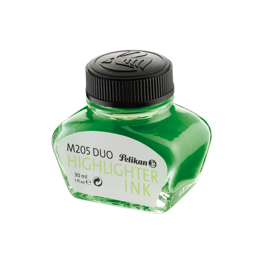 Pelikan Ink Bottle Highlighter Green