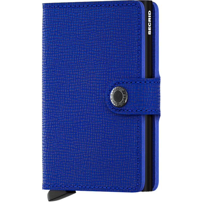 Secrid Mini Wallet Crisple Blue-Black