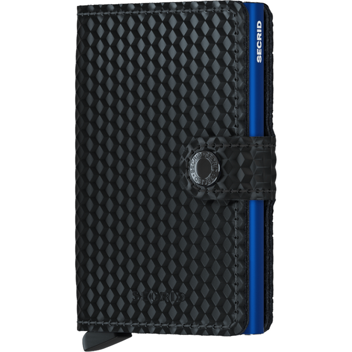 Secrid Mini Wallet Cubic Black-Blue
