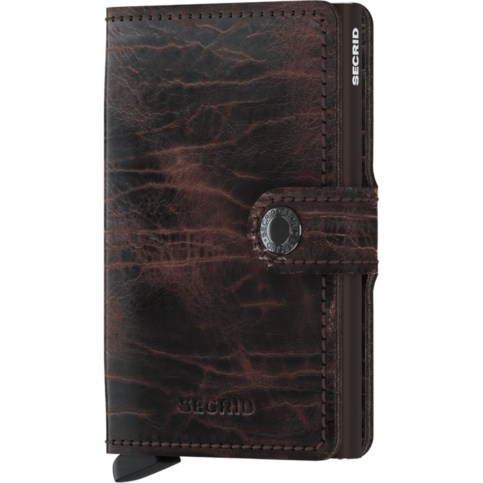 Secrid Mini Wallet Dutch Martin Cacao-Brown