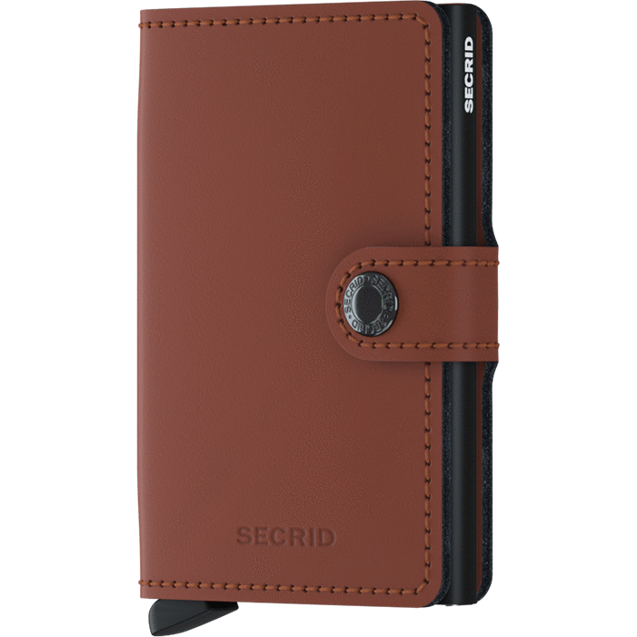 Secrid Mini Wallet Matte Brick-Black