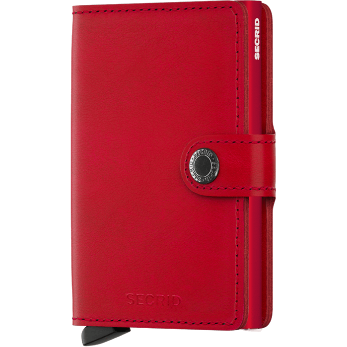 Secrid Mini Wallet Original Red-Red