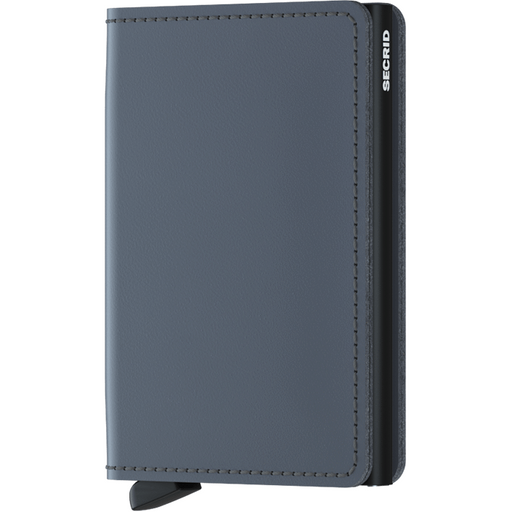 Secrid Slim Wallet Matte Grey-Black