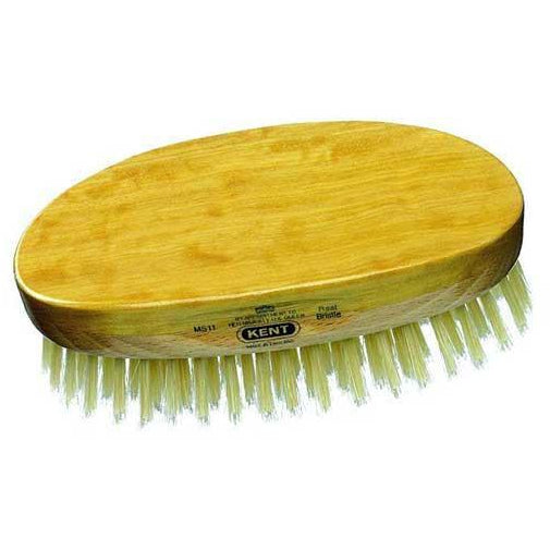 Kent MS11 Military Hair Brush, Oval