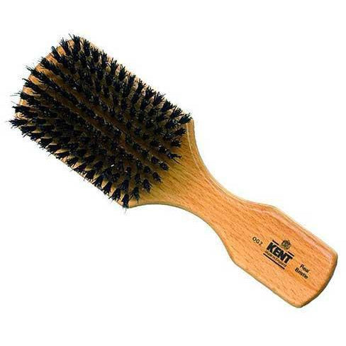 Kent OG2 Men's Brush Rectangulad Black Bristles