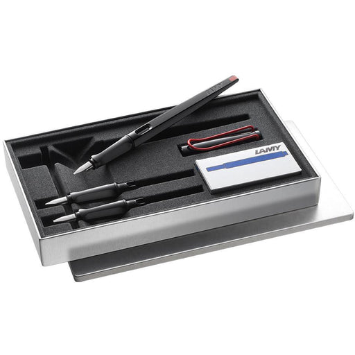 Lamy Joy Fountain Pen Set Black 1.1/1.5/1.9mm