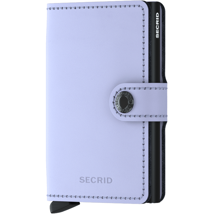 Secrid Mini Wallet Matte Lilac-Black