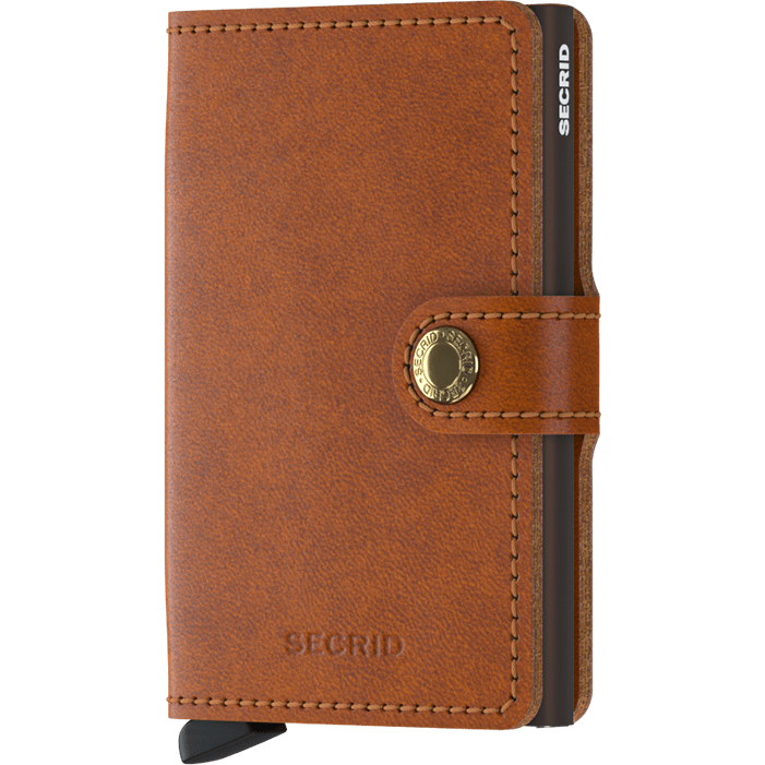 Secrid Mini Wallet Original Cognac-Brown