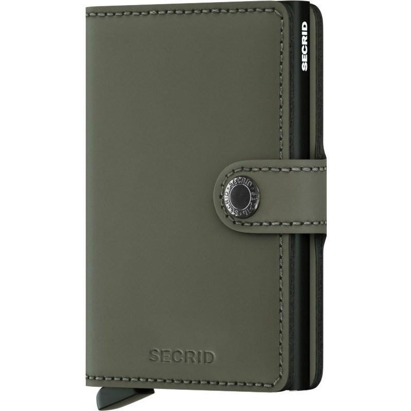 Secrid Mini Wallet Matte Green