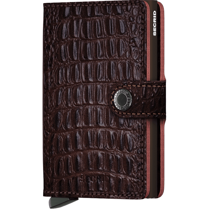 Secrid Mini Wallet Nile Brown