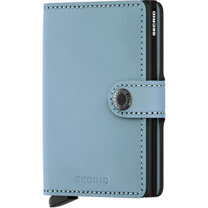 Secrid Mini Wallet Matte Blue