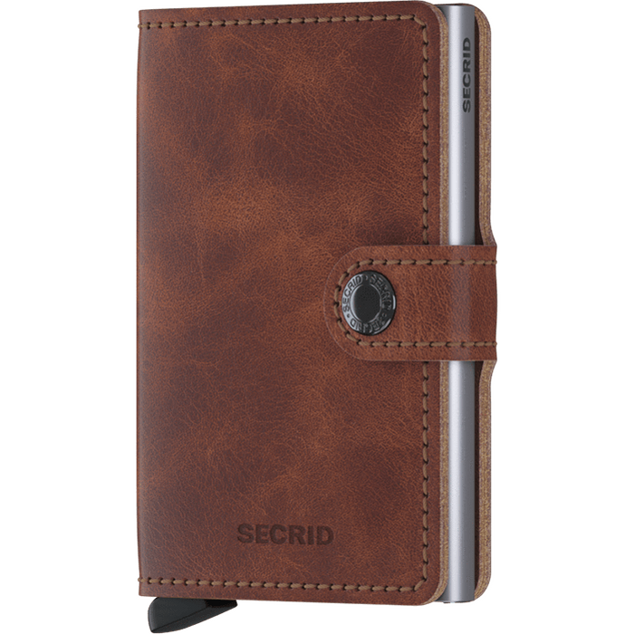 Secrid Mini Wallet Vintage Brown