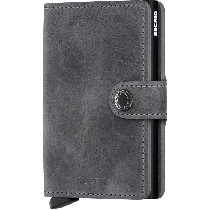 Secrid Mini Wallet Vintage Grey-Black
