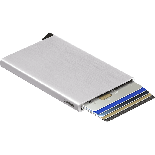 Secrid Card Protector Brushed Silver