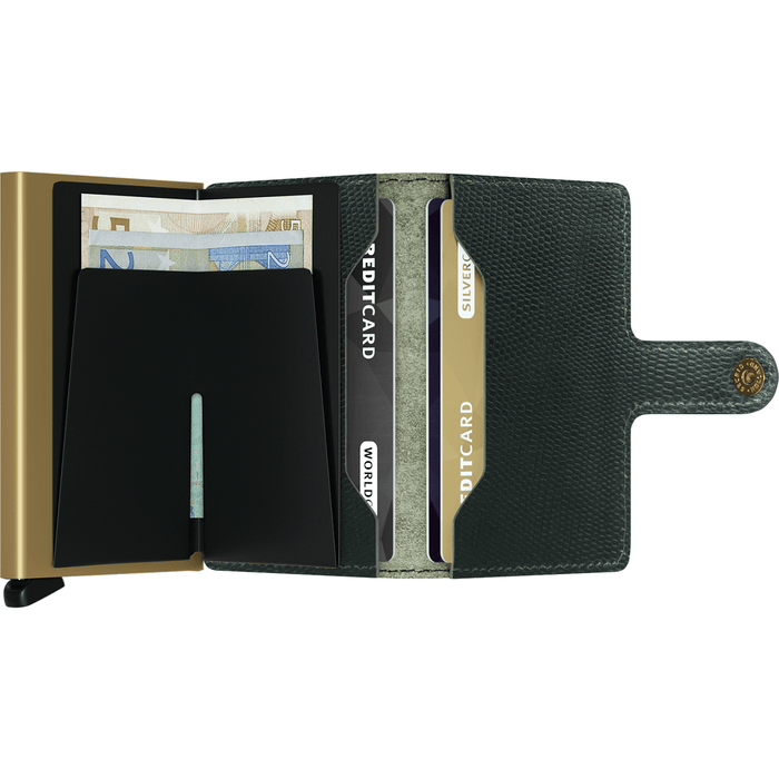 Secrid Mini Wallet Rango Green-Gold