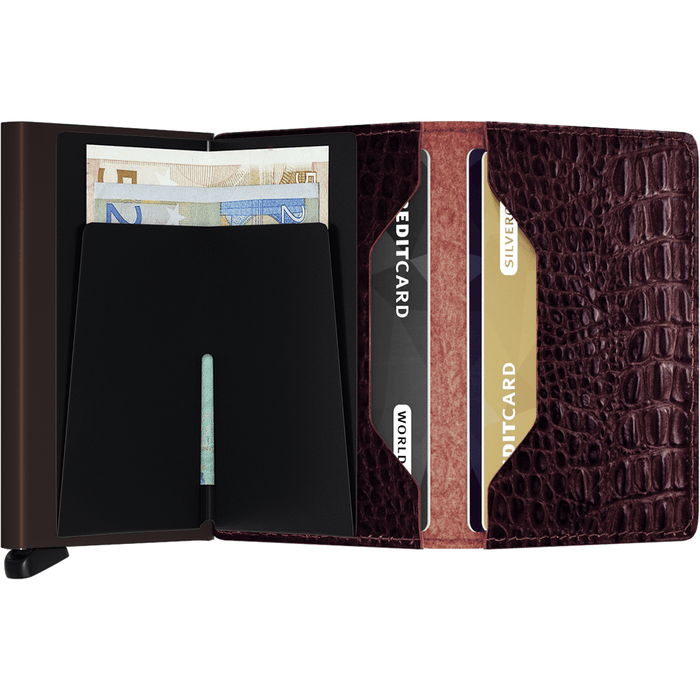 Secrid Slim Wallet Nile Brown