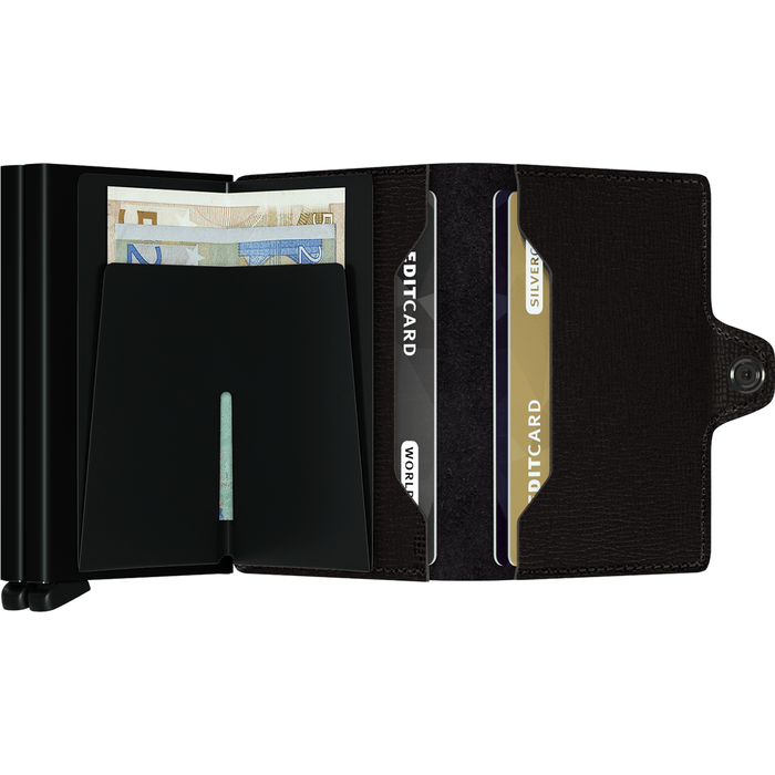 Secrid Twin Wallet Crisple Black