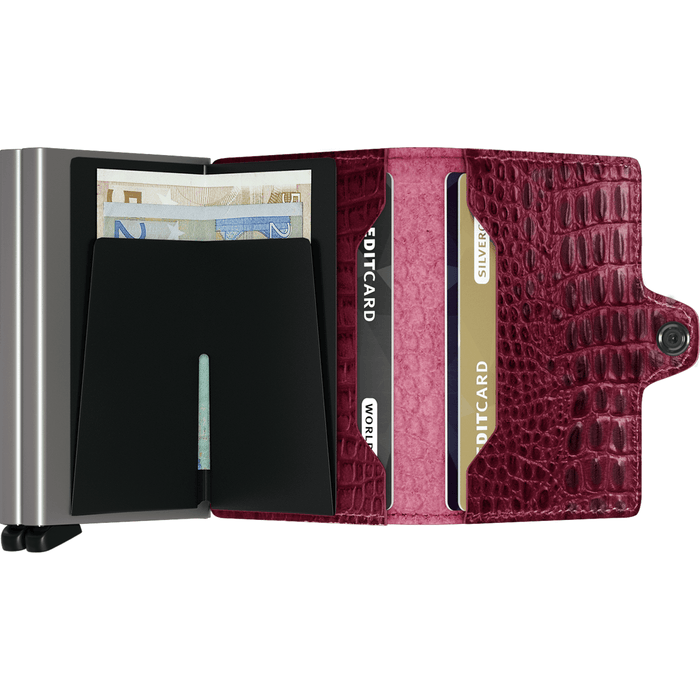 Secrid Twin Wallet Nile Red
