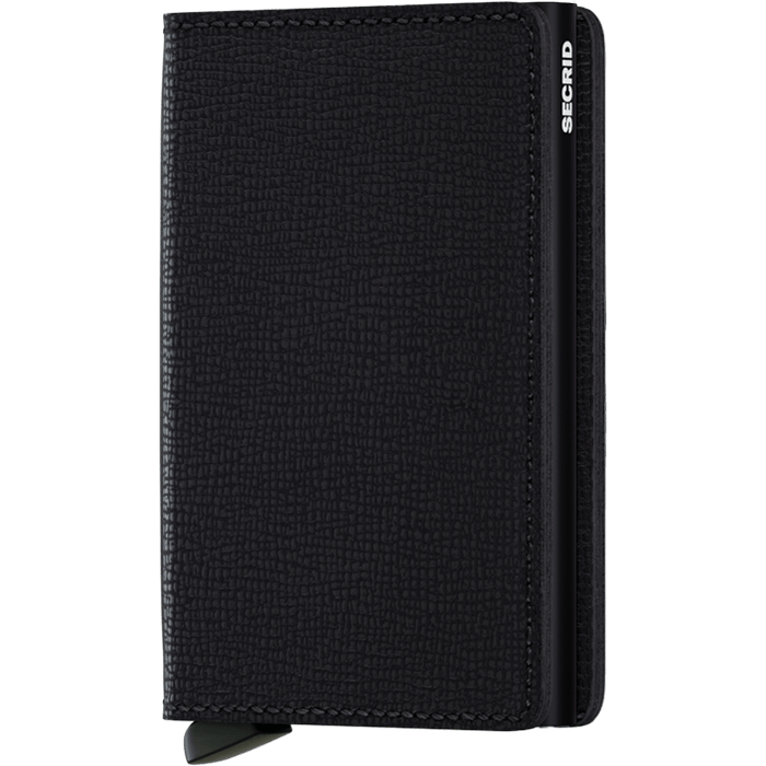Secrid Slim Wallet Crisple Black