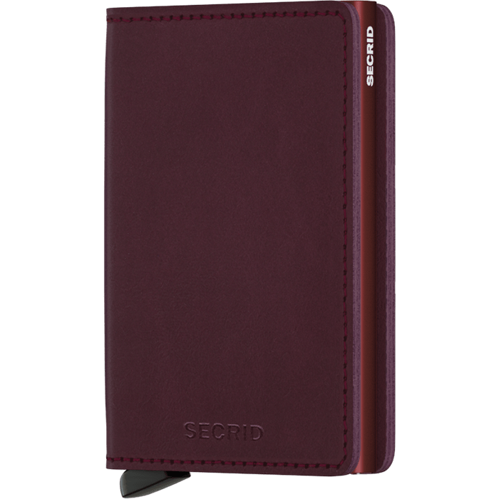 Secrid Slim Wallet Original Bordeaux