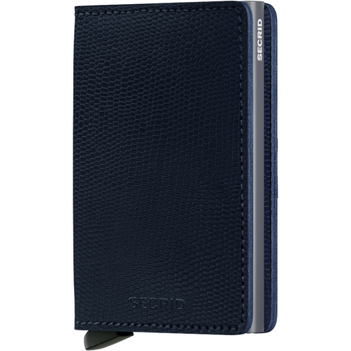 Secrid Slim Wallet Rango Blue-Titanium