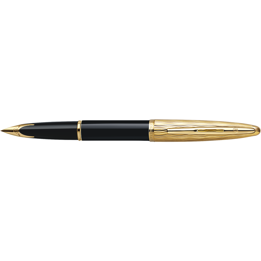 Waterman Carène Fountain Pen Essential Black and Gold